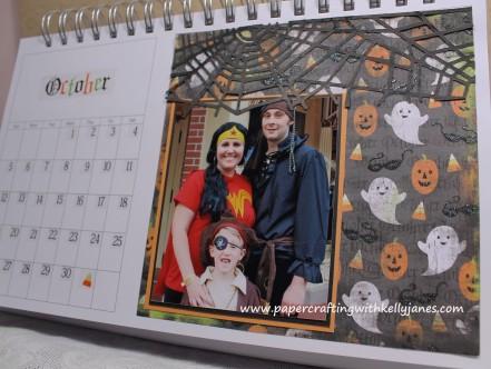 Karen Foster Calendar enhanced with CTMH products
