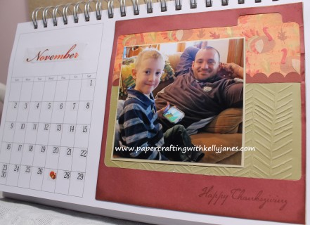 Karen Foster Calendar enhanced with CTMH products