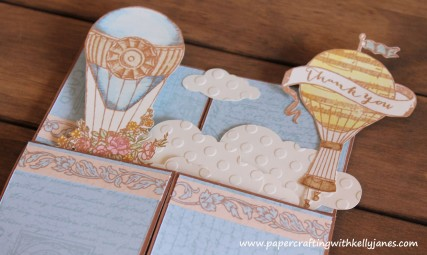 CTMH: Balloon Ride Explosion Card
