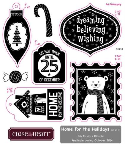CTMH: Oct 2014 SOTM-Home For The Holidays