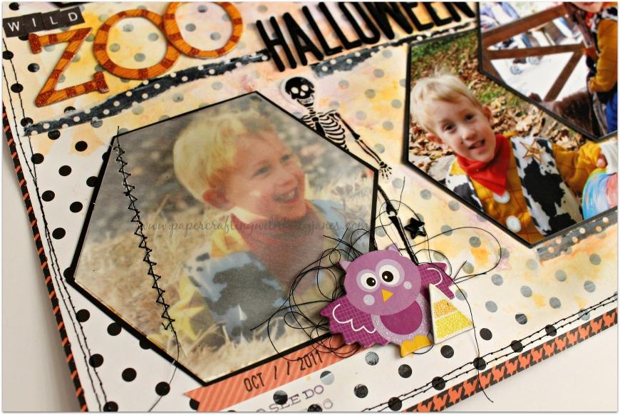 #halloween #scrapbook #ctmh