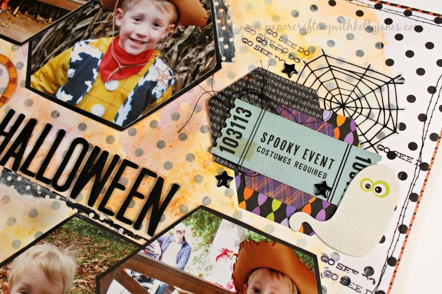 #ctmh #cratepaper #halloween #scrapbook