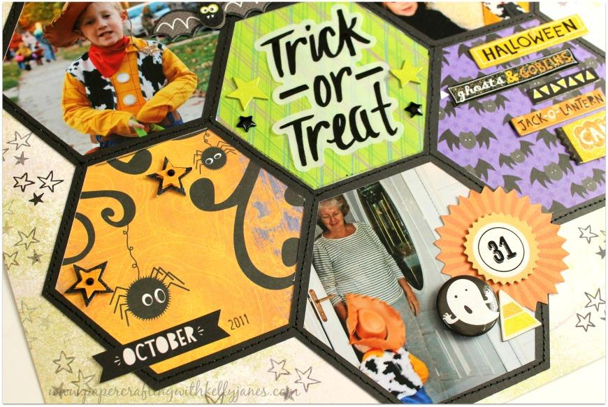 #halloween #scrapbooking #ctmh #cratepaper #k&company