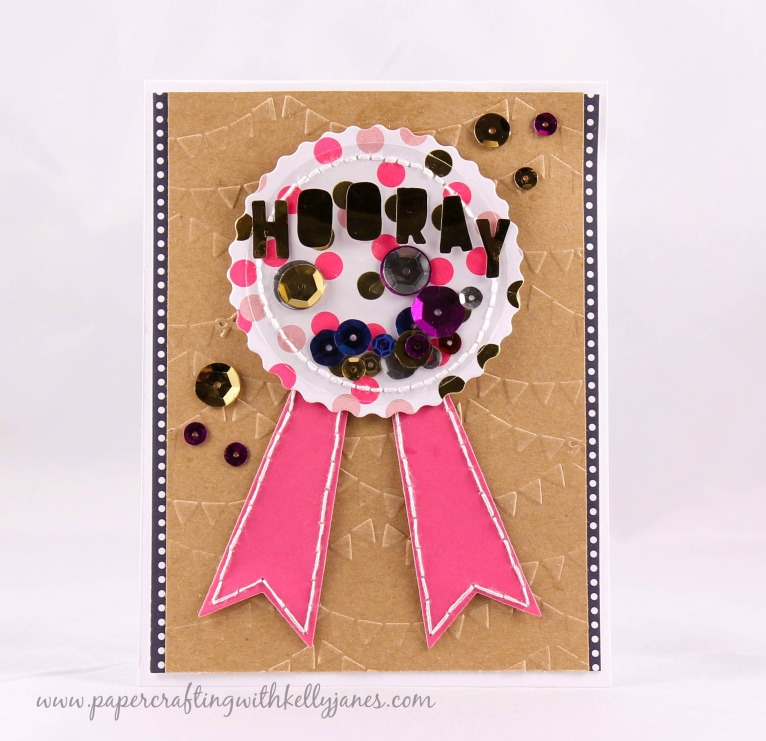 American Crafts, Dear Lizzy, Gold Foil, Minc Card