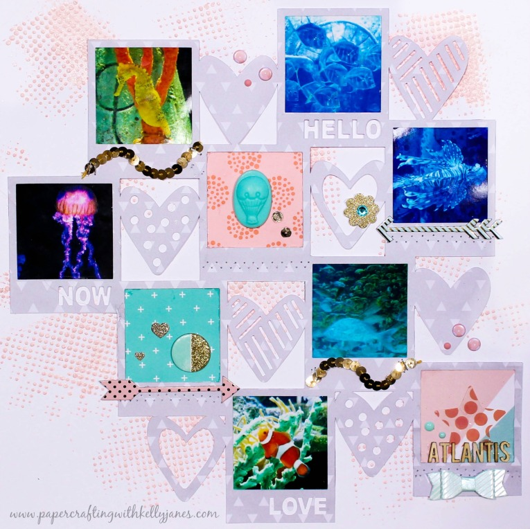 Big Picture Classes Cut File, Dear Lizzy, Heidi Swapp, Hip Kit Club Layout