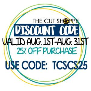 August 2016 Discount