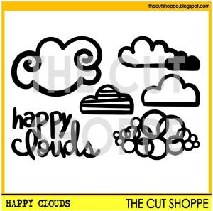 TCS Happy Clouds Cut File