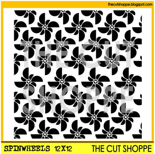 The Cut Shoppe-Spinwheels Cut File