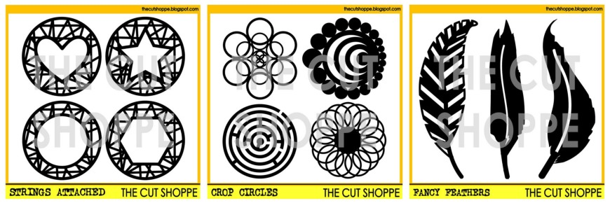 The Cut Shoppe | Strings Attached, Crop Circles, Fancy Feathers