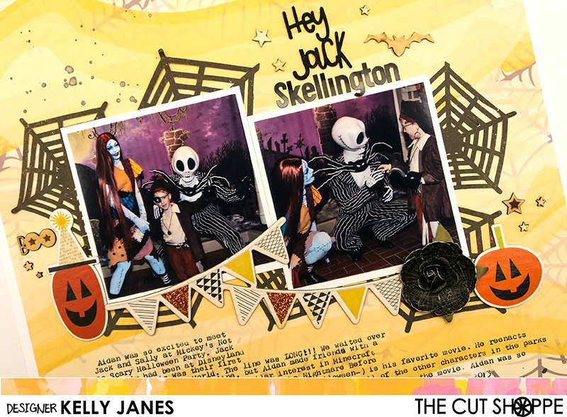 The Cut Shoppe | Tangled Web Cut File, Ghost Town Digital Collection, Happy Halloween Wood Veneer