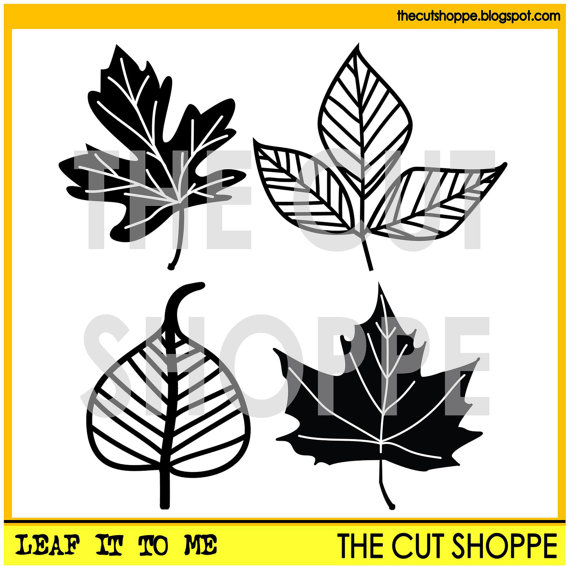 The Cut Shoppe | Leaf It To Me Cut File