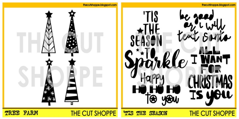 The Cut Shoppe | Tree Farm & 'Tis the Season