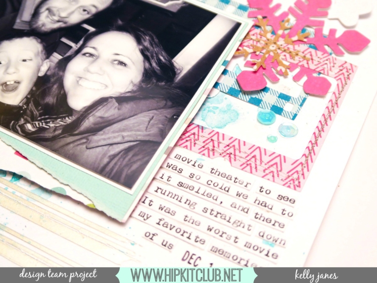 Hip Kit Club November 2016 Hip Kits | Crate Paper Snow and Cocoa & HKC Exclusives