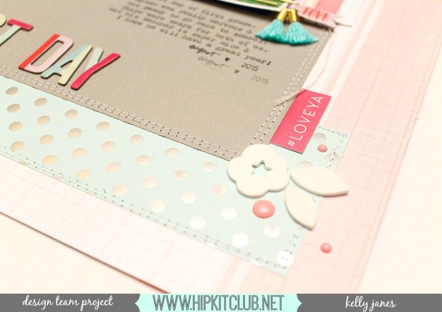 Hip Kit Club   December 2016 Kits   Pink Paislee-Take Me Away, Amy Tangerine, Maggie Holmes, HKC exclusives