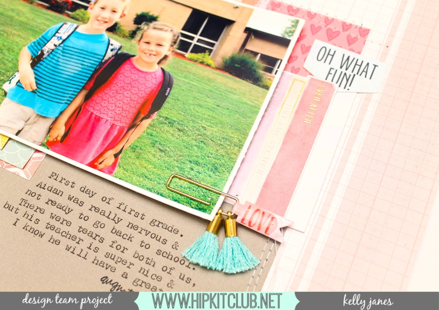 Hip Kit Club | December 2016 Kits | Pink Paislee-Take Me Away, Amy Tangerine, Maggie Holmes, HKC exclusives