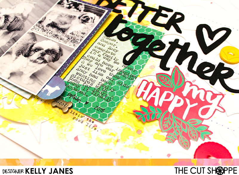 The Cut Shoppe-Sweet Talker | Amy Tangerine-Better Together | Pink Paislee-Paige Evans-Fancy Free