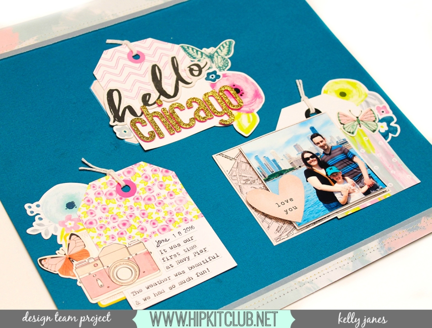Hip Kit Club | February 2017 Kits | Maggie Holmes-Chasing Dream | Pretty Little Studio-With All My Heart