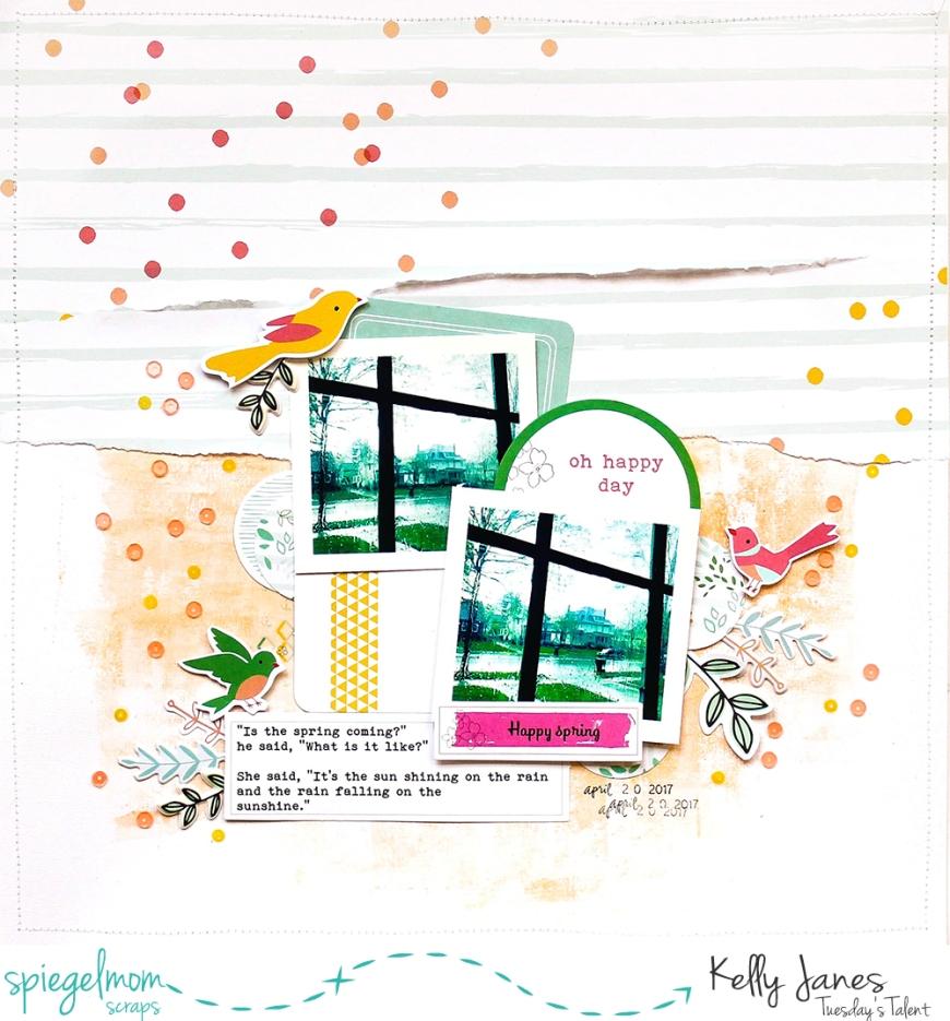 Pinkfresh Studio, Dream On, Felicity, Spiegelmom Scraps, Sequins
