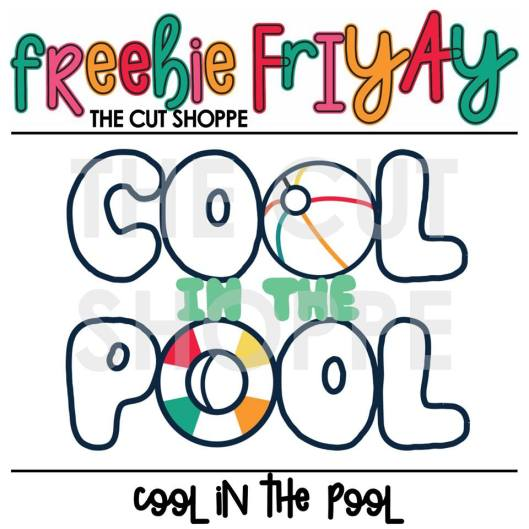 The Cut Shoppe | Freebie FriYAY Cut File.