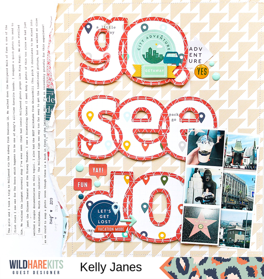 Wild Hare Kits - Pinkfresh Studio Out & About - Travel Photos - Kelly Janes