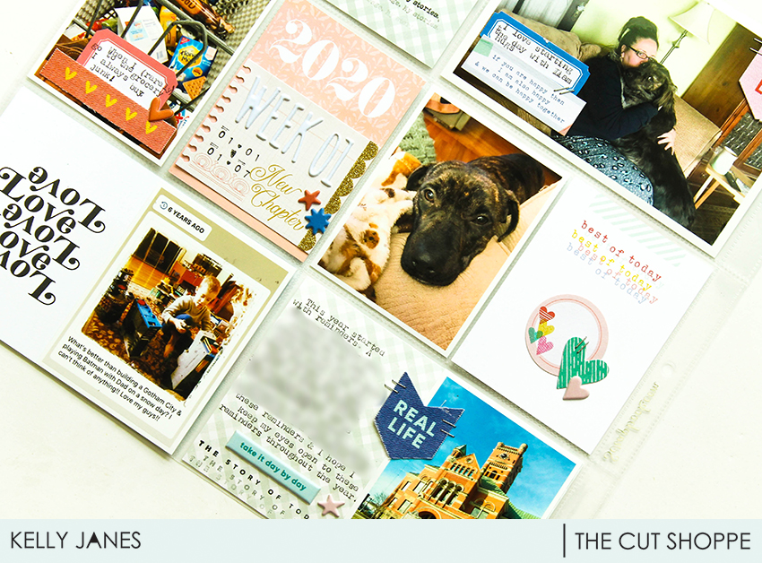 12x12 Project Life using Citrus Twist Kits, The Cut Shoppe Cut Files and my stash